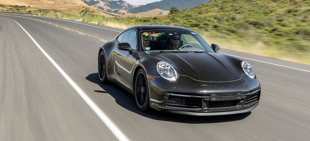 2019 Porsche 992 911 prototype ride review