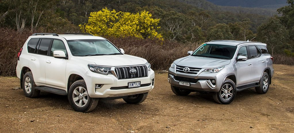 2018 Toyota Prado vs Toyota Fortuner 4x4 comparison