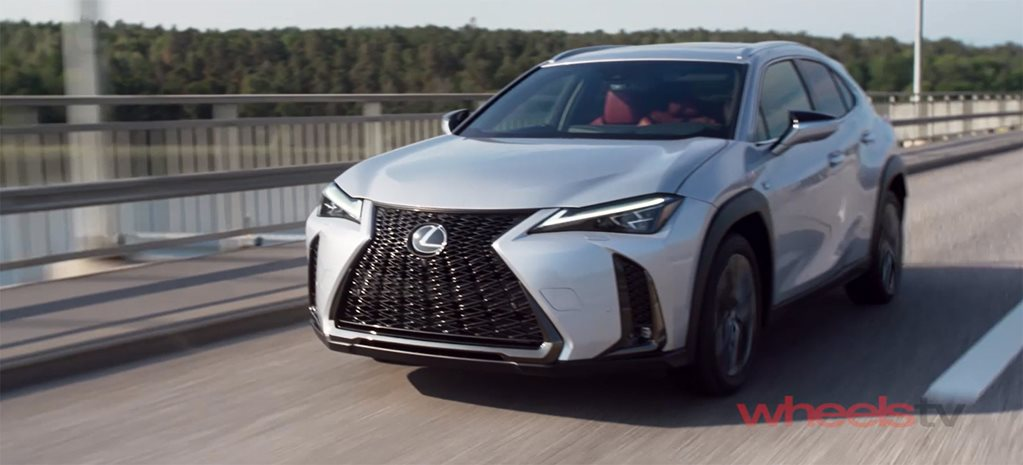Video: 2019 Lexus UX preview drive