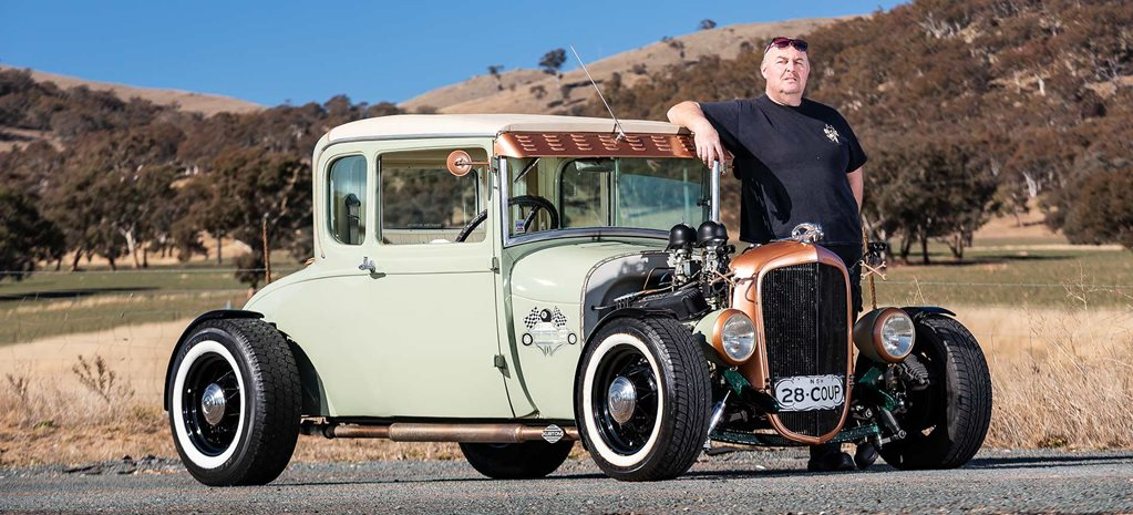 Sean Puttifoot's 1928 five-window coupe