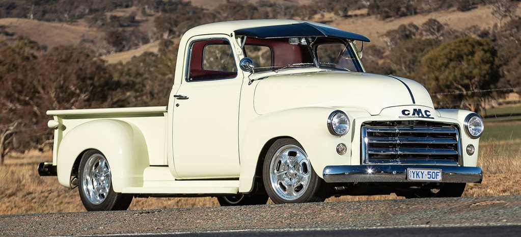 Matt Crane's 1959 GMC pick-up
