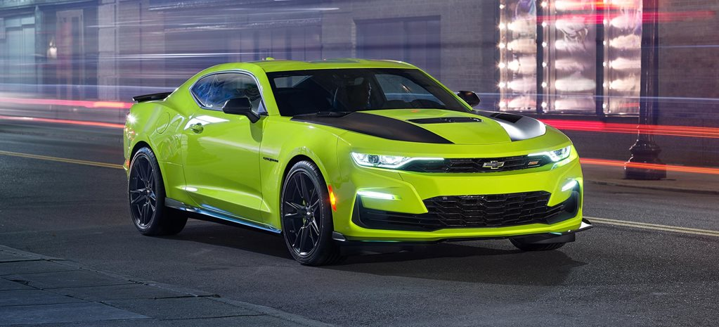 Chevrolet Camaro SS SEMA car revised concept styling news