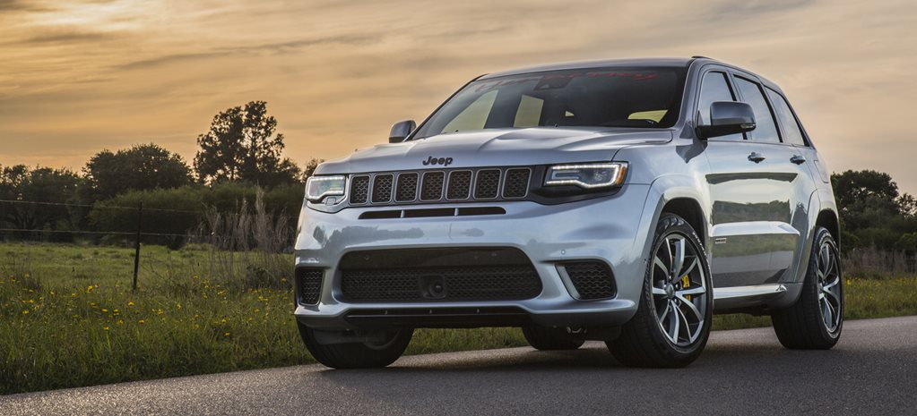 Hennessey-tuned 895kW Jeep Trackhawk cracks 9-sec quarter mile