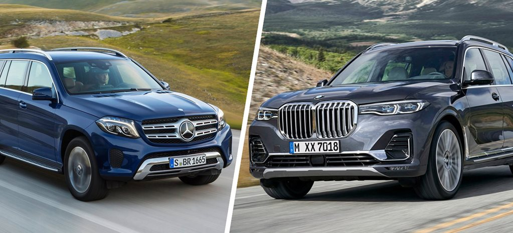 2019 BMW X7 vs Mercedes GLS on paper