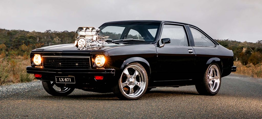 Blown 1978 Holden LX Torana hatch