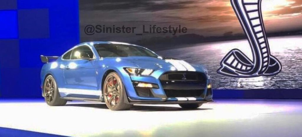 2019 Ford Mustang Shelby GT500 leaked news