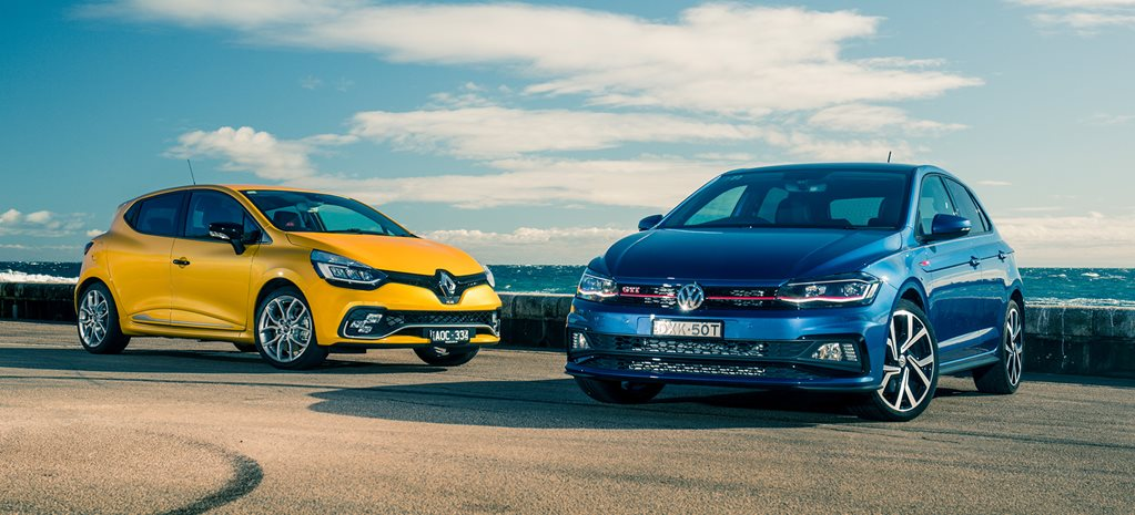 2018 Volkswagen Polo GTI vs Renault Clio RS 200 comparison review