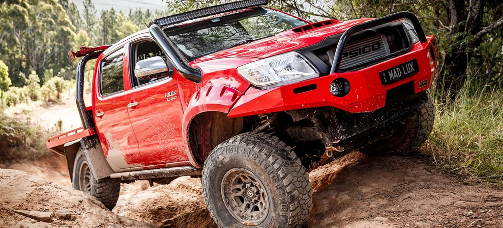 Custom 2013 Toyota Hilux review