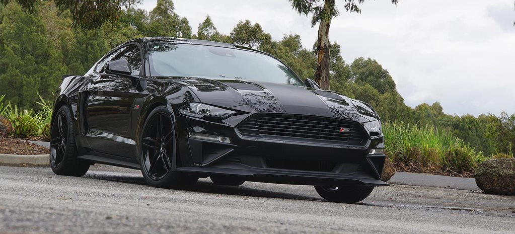 roush rs mustang launched  australia