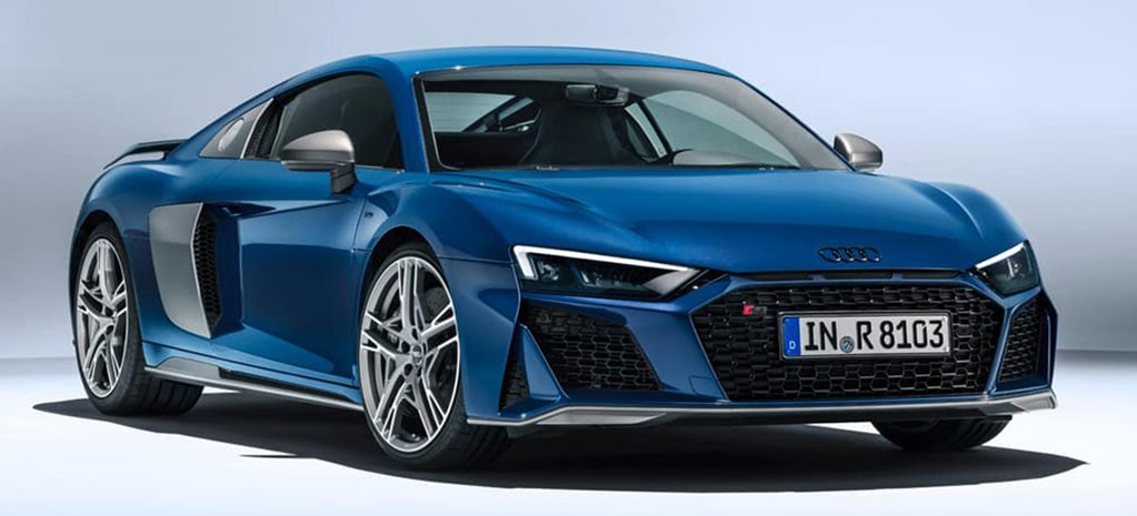 2019 Audi R8 facelift revealed news