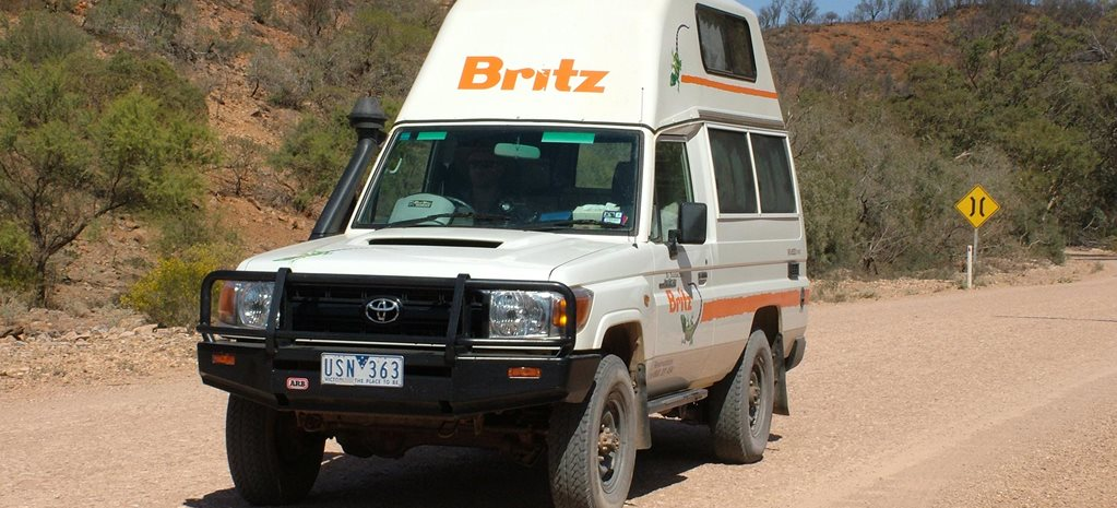 Custom Toyota TroopCarrier Britz Bushcamper review feature