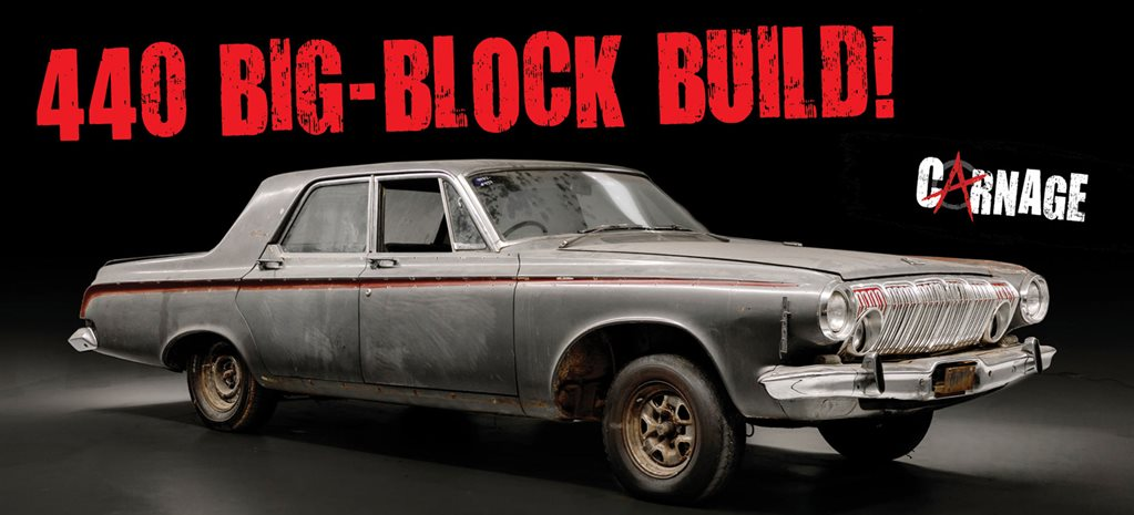 Mr Dodgey 440-powered 1963 Dodge Phoenix Part One