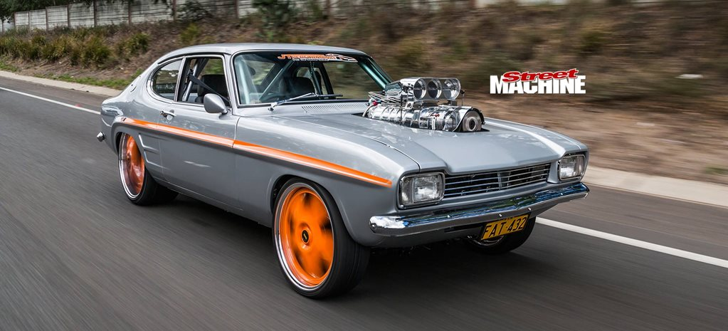 John Saad's Blown 1969 Ford Capri