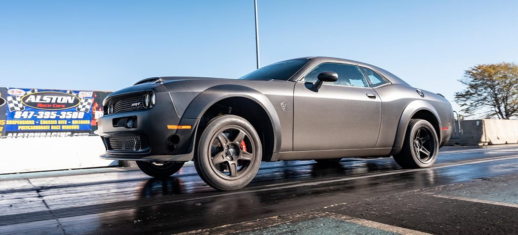 Twin-turbo carbon fibre Dodge Challenger Demon fastest in the world news