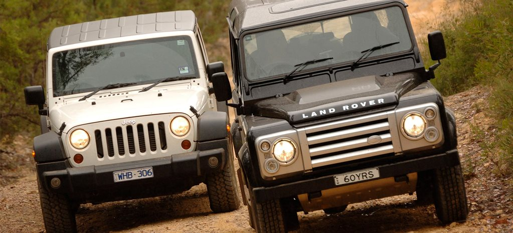 2009 Land Rover SVX vs Jeep Wrangler Unlimited 4x4 comparison