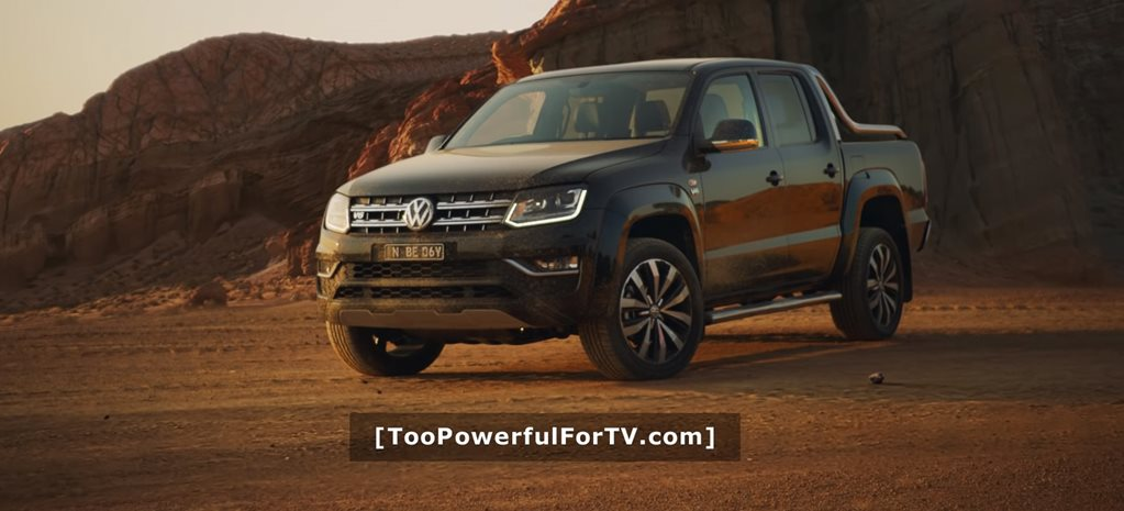 Volkswagen Amarok 'too powerful for TV' ad banned… for being too powerful for TV