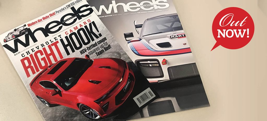 Camaro puts on the gloves for The General in Oz: Wheels magazine preview – November 2018