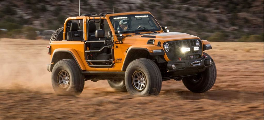 SEMA 2018: Mopar reveal Wrangler performance axles at SEMA