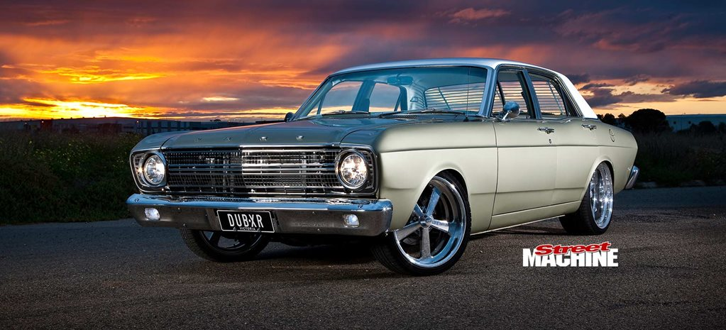 Tony Camilleri's 1968 Ford XR Falcon 500 streeter