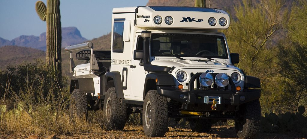 2009 EarthRoamer Jeep Wrangler 4x4 review feature