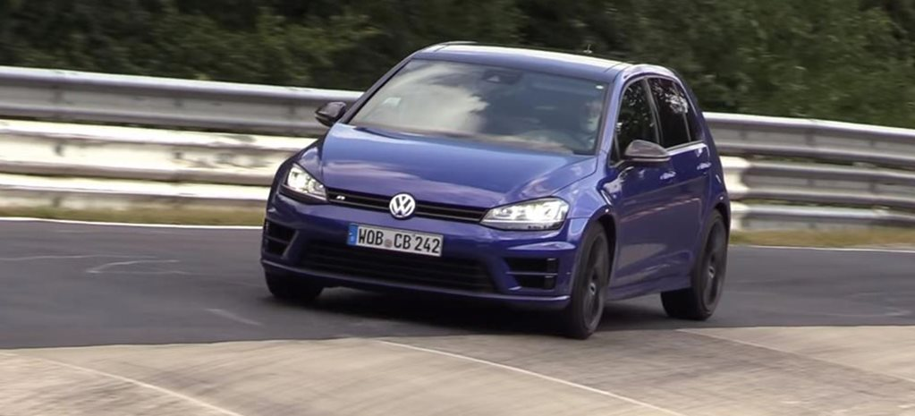 Volkswagen explains 5-cylinder Golf R testing news