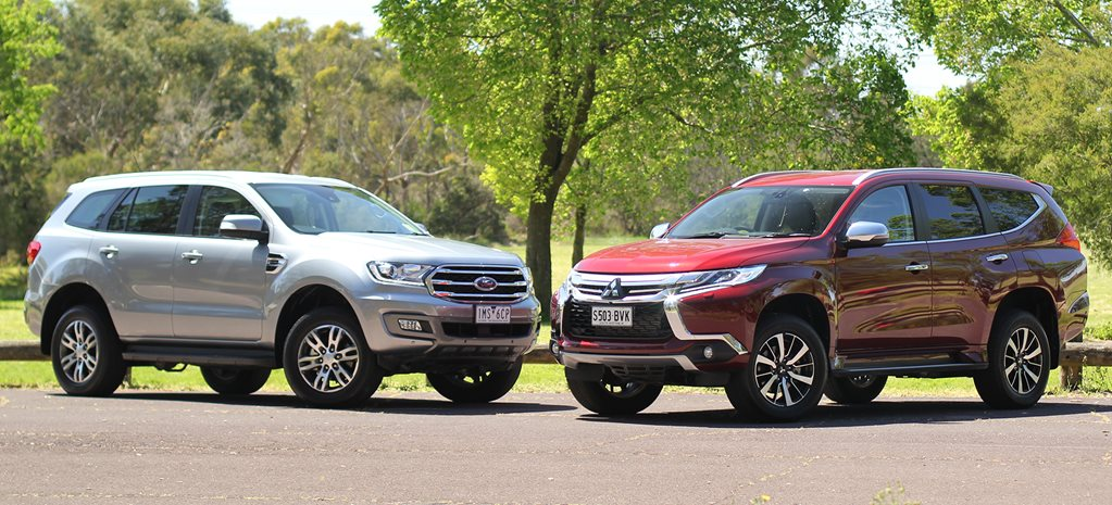 Ford Everest Trend vs Mitsubishi Pajero Sport Exceed comparison review