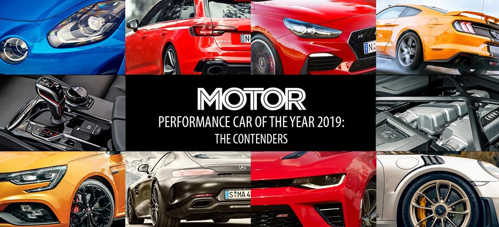 Performance Car of the Year 2019 The contenders feature