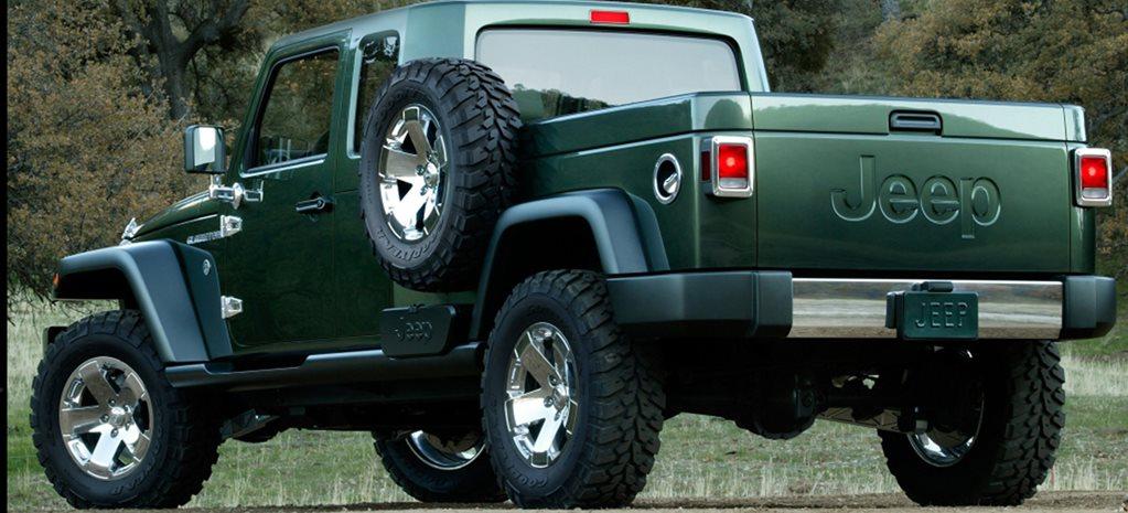 2019 Jeep Gladiator – name confirmed for Wrangler ute