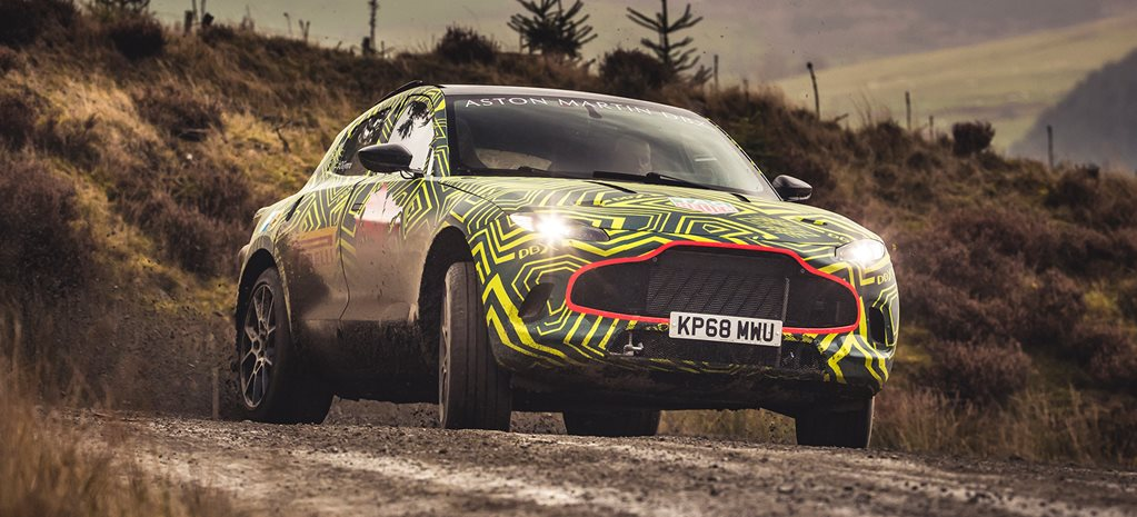 2019 Aston Martin DBX breaks cover, but not camo