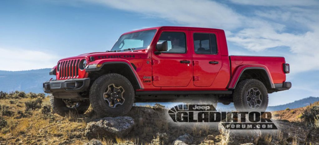 2020 Jeep Wrangler EcoDiesel Release Date >> 2020 Jeep Gladiator Official Images Leaked