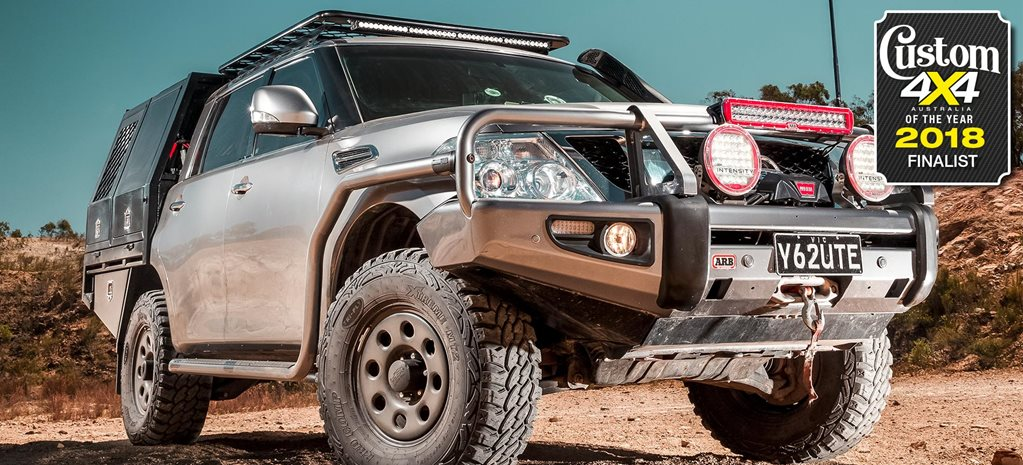 2018 Custom 4x4 of the Year finalist Nissan Y62 Patrol dual-cab ute feature