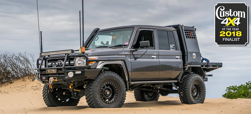 Cougar Life Reviews >> 2018 Custom 4x4 of the Year finalist: Toyota LC79 'Thug Truck'