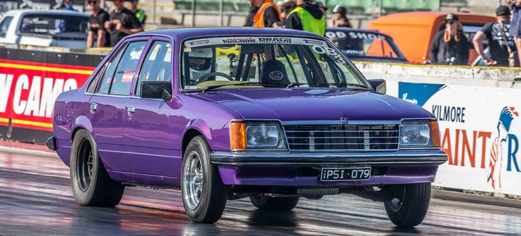 Turbo Ecotec V6-powered VB Commodore runs nines at Drag Challenge 2018