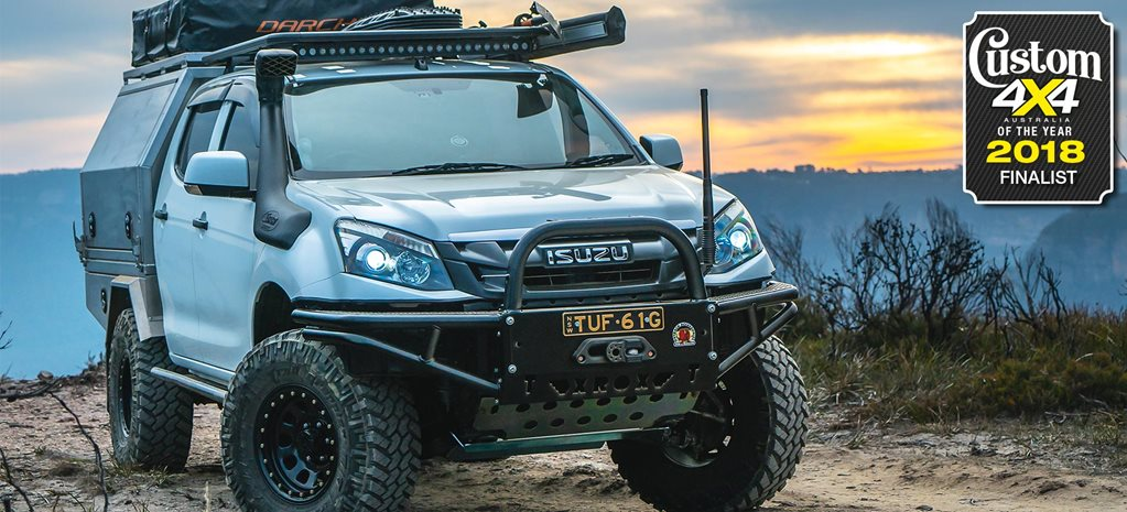 2018 Custom 4x4 of the Year finalist Isuzu D-Max feature
