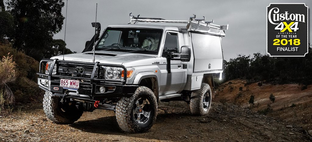2018 Custom 4x4 of the Year finalist: Toyota LC79 GXL