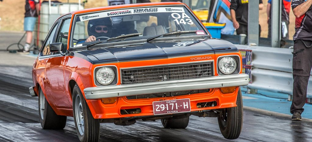 413hp LS2-powered LX Torana at Drag Challenge 2018
