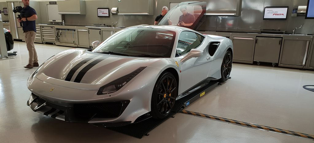 Ferrari 488 Pista's Aussie connection