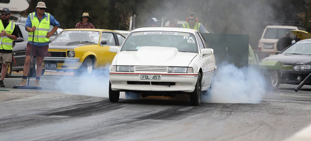 Stroker 383 Holden Commodore VN SS at Drag Challenge 2018