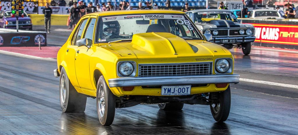 Nine-second Holden-powered SL/R Torana at Drag Challenge