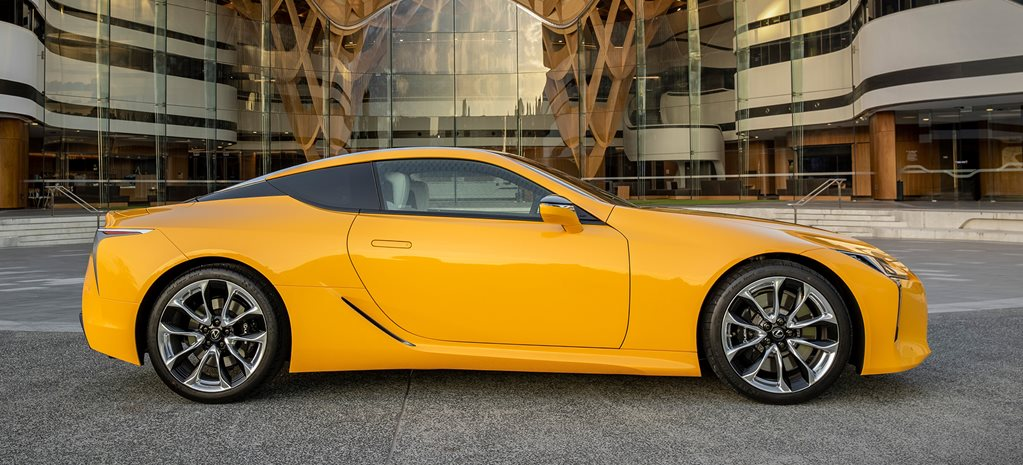 The Lexus LC Coupe just got even more outlandish