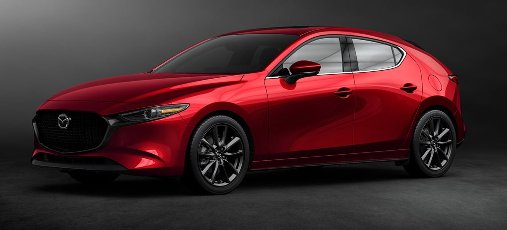 2019 Mazda 3 hatch and sedan revealed at LA Show