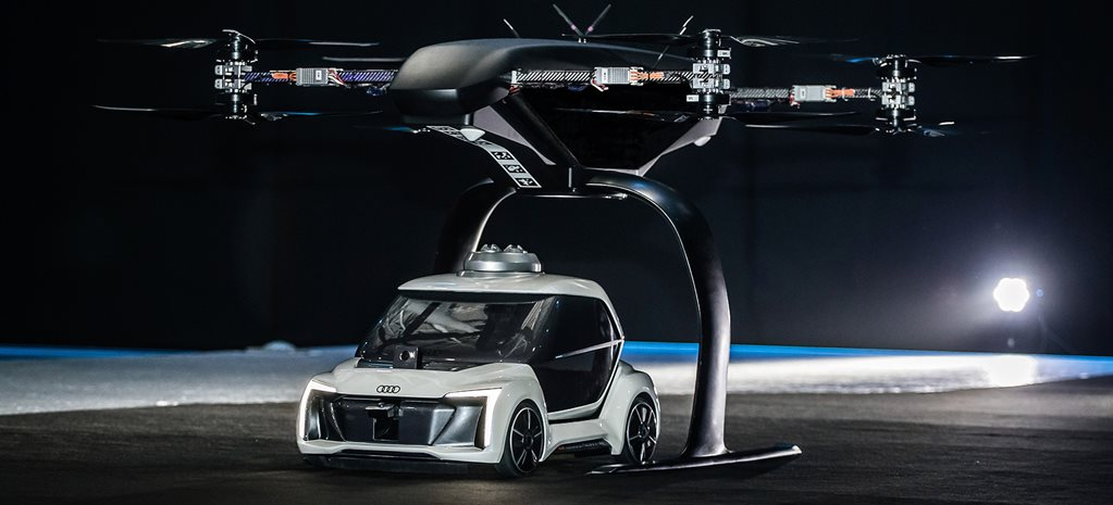 Flying taxis are on their way: Audi
