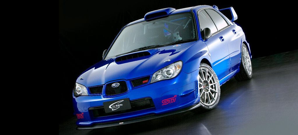 2007 Subaru Impreza STi Spec C Legend Series feature