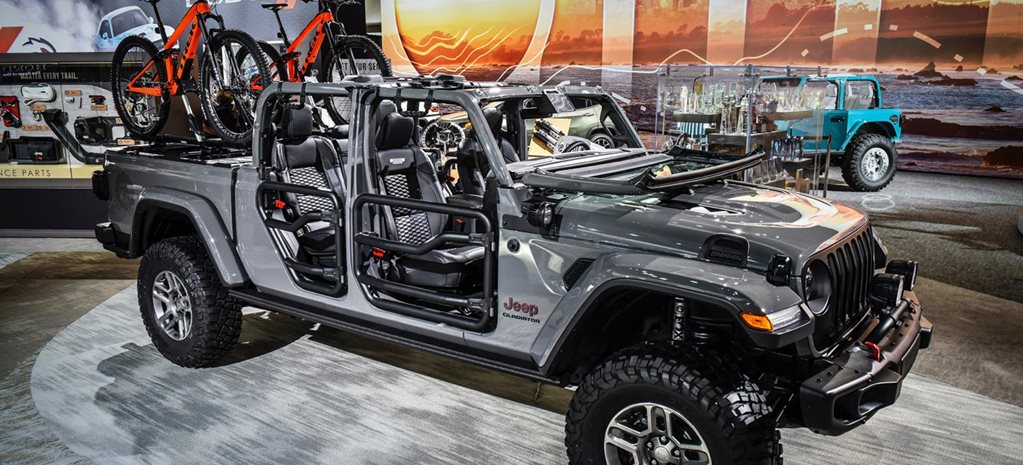Mopar accessorises 2020 Jeep Gladiator news