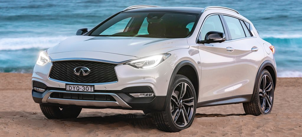 Infiniti Q30 and QX30 receive model range makeover