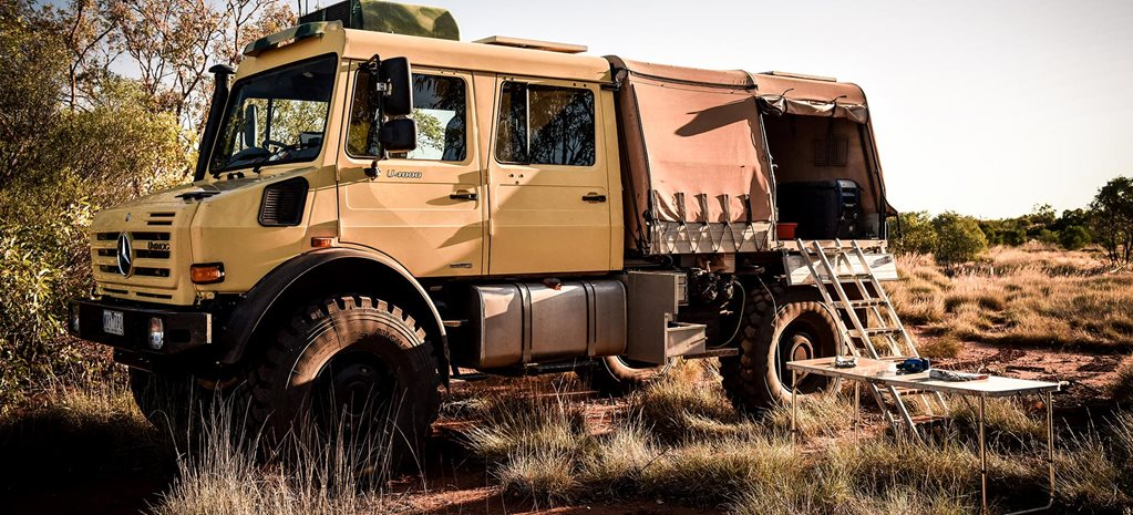 Custom Mercedes-Benz Unimog U4000 review feature