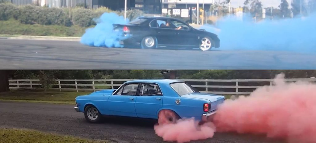 Gender Reveal Burnouts of Australia