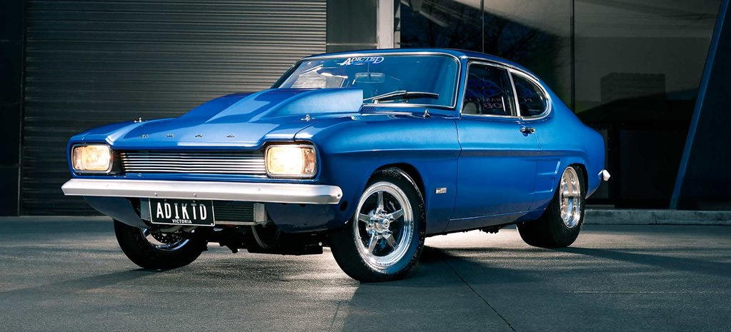 1700hp twin-turbo 1970 Ford Capri Mark I