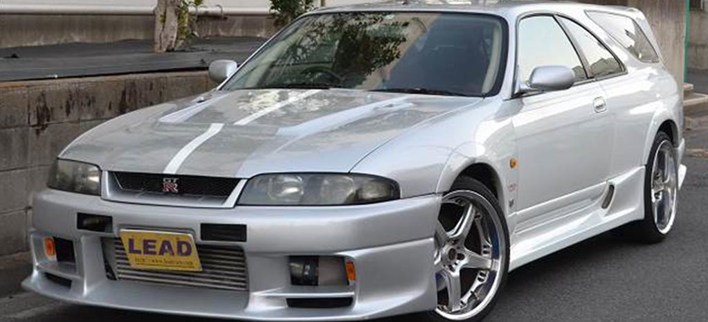 Nissan R33 Skyline GT-R shooting brake for sale news