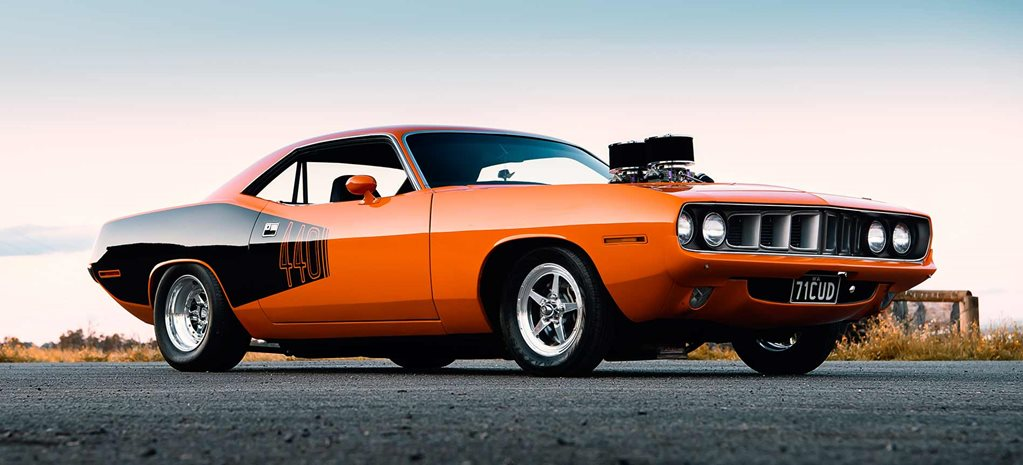 547-cube big-block 1971 Plymouth Barracuda